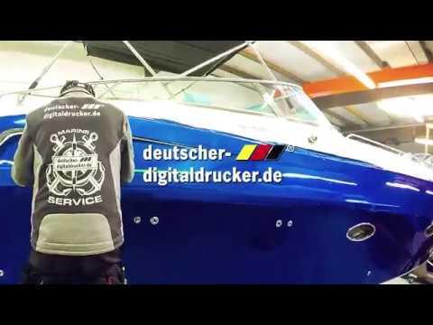 Bootsfolierungen (Yacht Wrapping) bei deutscher-digitaldrucker.de