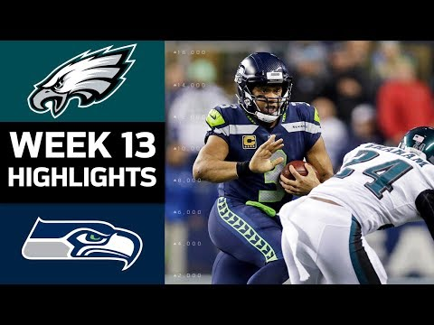 Eagles vs. Seahawks | NFL Week 13 Game Highlights