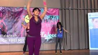 Zumbathon® Event   Benefizveranstaltung für die Krebsliga beider Basel 03 03 2013   Silvia Tortomas