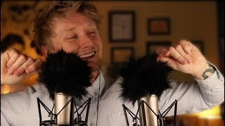 ASMR New Fuzzy Mic Covers [Layered Mic Brushing] [Sound Assortment] [Rodes]