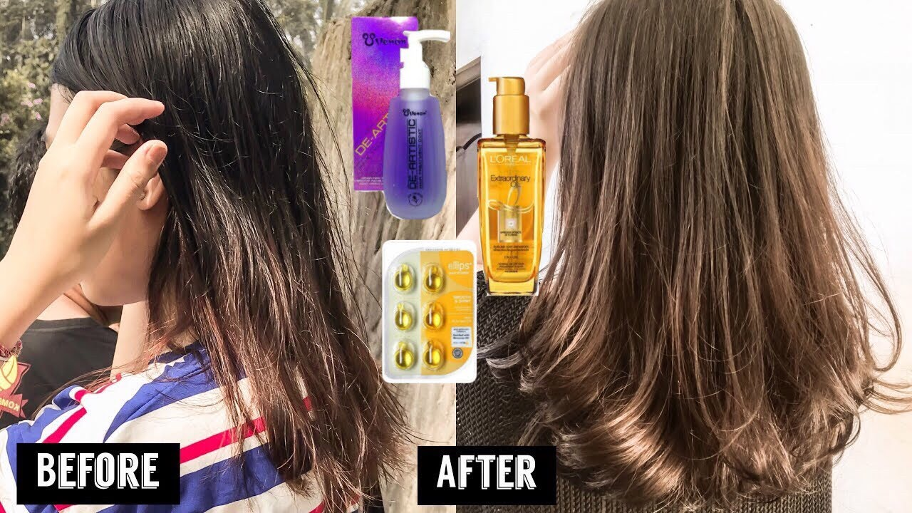 Serum Untuk Rambut Super Kering, Bercabang , Sering Di Warnai | Tips and Tricks