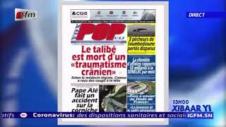 REPLAY - Revue de Presse - Pr : MAMADOU MOUHAMED NDIAYE - 21 FÉVRIER 2020