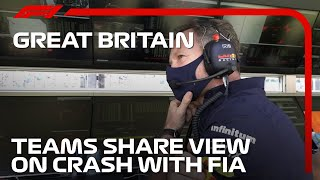 Mercedes And Red Bull Post-Crash Radio With The FI