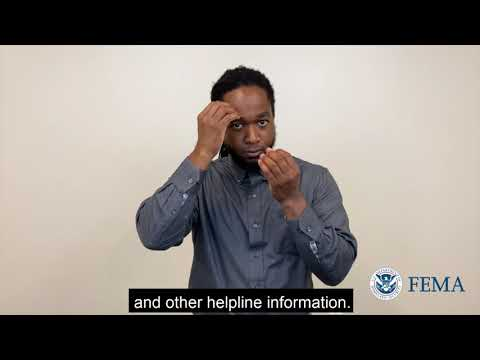 FEMA Accessible: Disaster Assistance Registration Process Phone Number Information