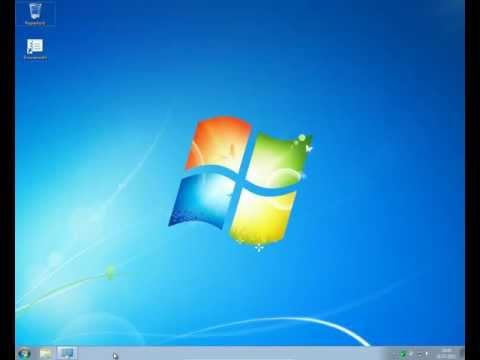 Windows 7 Einstellen - Anpassung / Auflösung Erstmals Anpassen