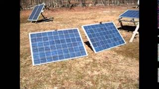 Warm Day Planting Seeds And Setting Up RV Solar Panels