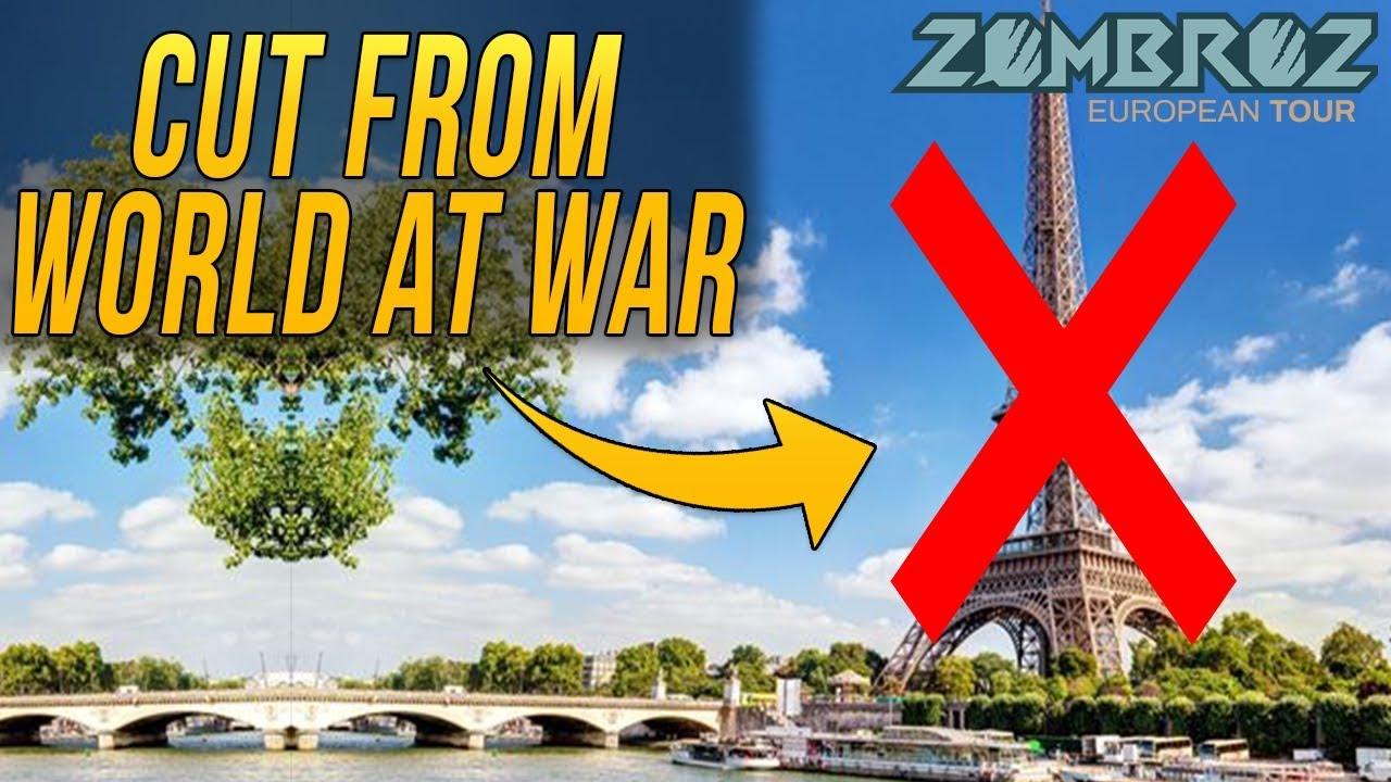 The World at War DLC 4 Secret   The Paris Zombie Map We Never Got ...