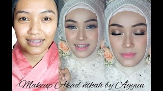 Download Video Makeup flawless & natural akad nikah | Ayyunazzuyyin MP3 3GP MP4