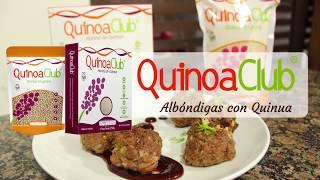 Albondigas de carne con Quinua