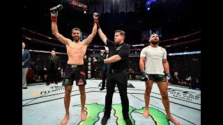 UFC Boston: Entrevista no Octógono com Yair Rodriguez