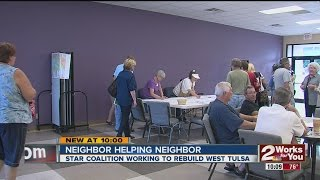 Star Coalition Works To Rebuild West Tulsa
