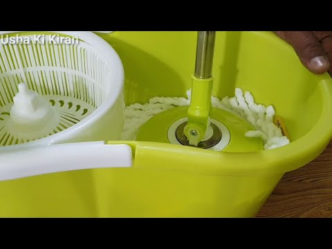Domestic Floor Mop Machine  घरेलू पोछा मशीन  360°Spin Mopping Machine🔥Mop Unboxing Installation