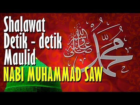 Shalawat Detik Detik Maulid Nabi Muhammad Saw