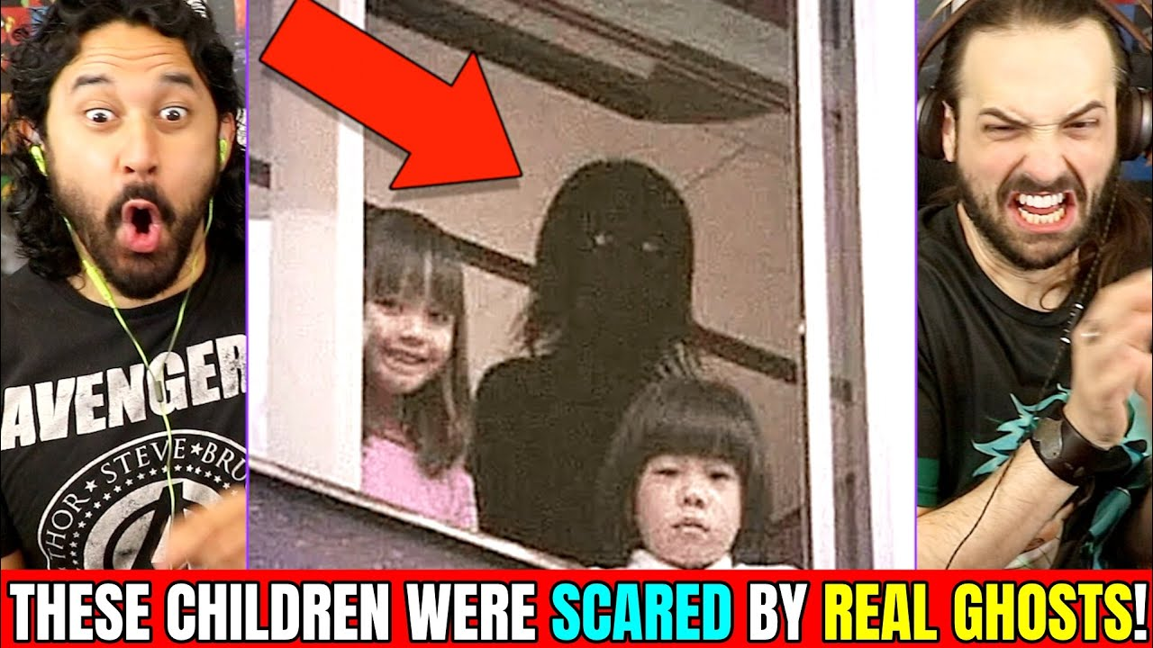 THESE CHILDREN WERE SCARED BY REAL GHOSTS - REACTION!  [👻 Slapped Ham 😱]