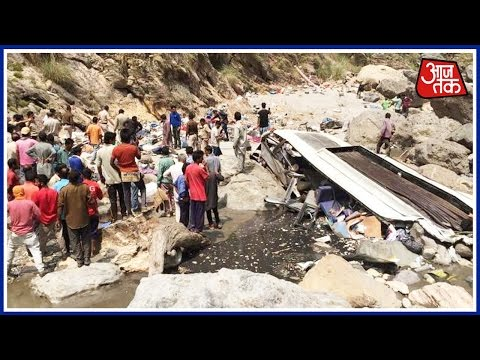 100 Shehar 100 Khabar: 45 Dead As Uttarakhand Bus Falls Into River In Himachal