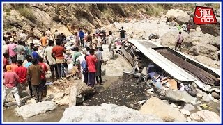 100 Shehar 100 Khabar: 45 Dead As Uttarakhand Bus Falls Into River In Himachal