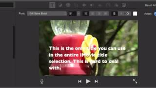 08 Subtitles in iMovie 10.0.9