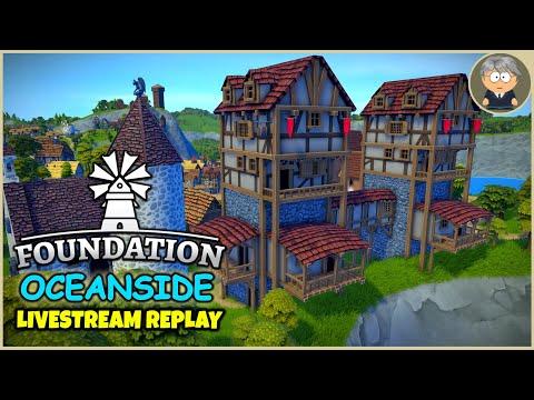 Horseshoe Tavern & Inn 🌴 Oceanside Livestream Replay - Foundation Gameplay - #16