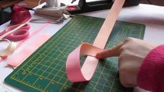 Boutique bow tutorial by UK Seller (no sew)