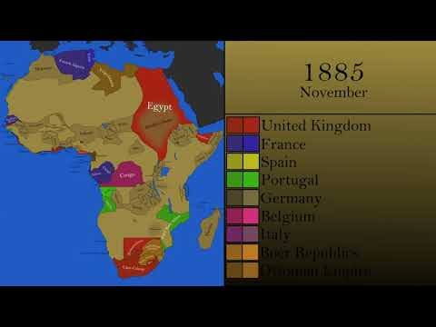 The Scramble for Africa: Every Month