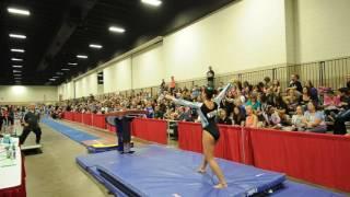 Sydney Gonzales - Vault 1 - 2016 Women's Junior Olympic Championships