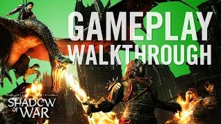 Official Shadow of War Gameplay Walkthrough(The war for Mordor begins. Watch the official gameplay walkthrough for Middle-earth: Shadow of War. Download this video for free at: ..., 2017-03-08T14:00:06.000Z)
