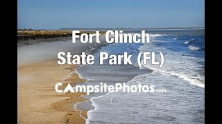 Fort Clinch State Park, Florida Campsite Photos
