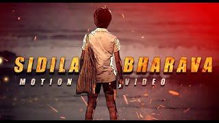 SIDILA BHARAVA MOTION VIDEO KGF CHAPTER - 1