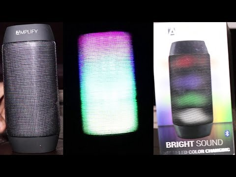 Amplify by Audro LED Bluetooth Speaker Review