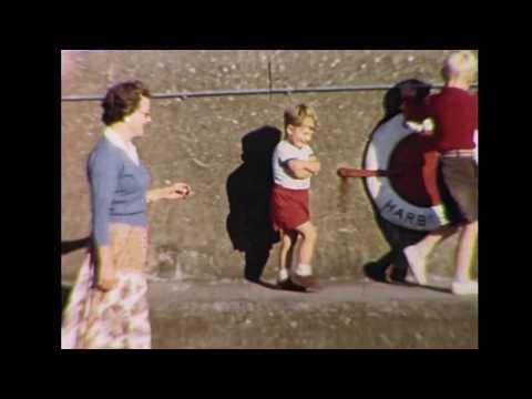 Isle of man harbour 1957