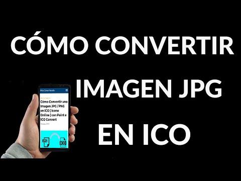 Cómo Convertir una Imagen JPG / PNG en ICO