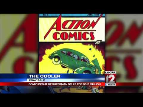 The Cooler: First Superman comic book sells for $3.2 million