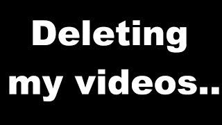 Wizard101: Deleting my videos.