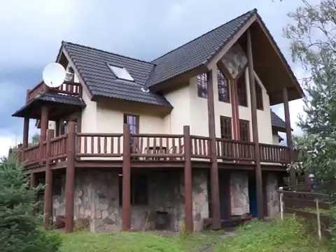 Дом для дня рождения с баней и бассейном в Ленобласти |Видеообзор|