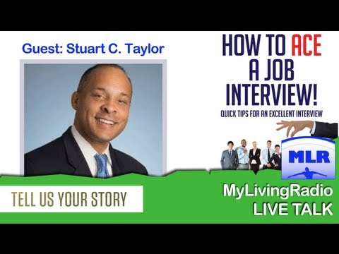 """How to Ace a Job Interview"" Stuart C. Taylor  (Get The Job You Want)"