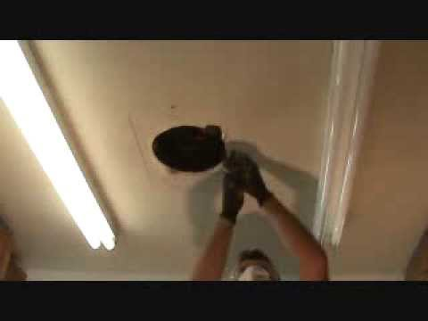 How to remove a kitchen exhaust fan...Part 4
