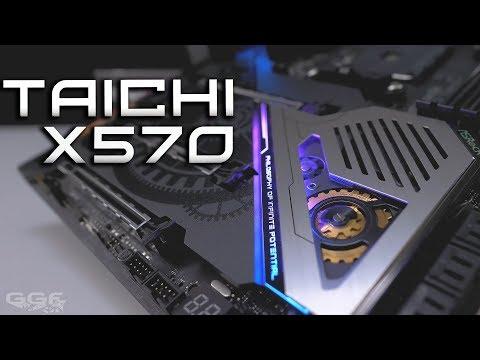 ASRock X570 Taichi - Brand New Looks!