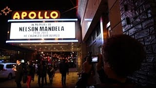 HARLEM REMEMBERS NELSON MANDELA - BBC NEWS