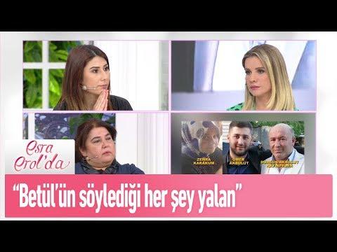 """Ömer Akbulut: """"Betül'ün söylediği her şey yalan..."""" - Esra Erol'da 20 Şubat 2019"""