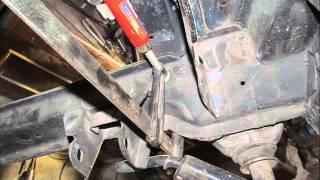 Как вварить жёсткость через 'прокол', на ВАЗ-2108-99? ( auto repair)