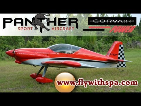 Panther Experimental Amateurbuilt light sport aircraft from Sport Performance Aviation.