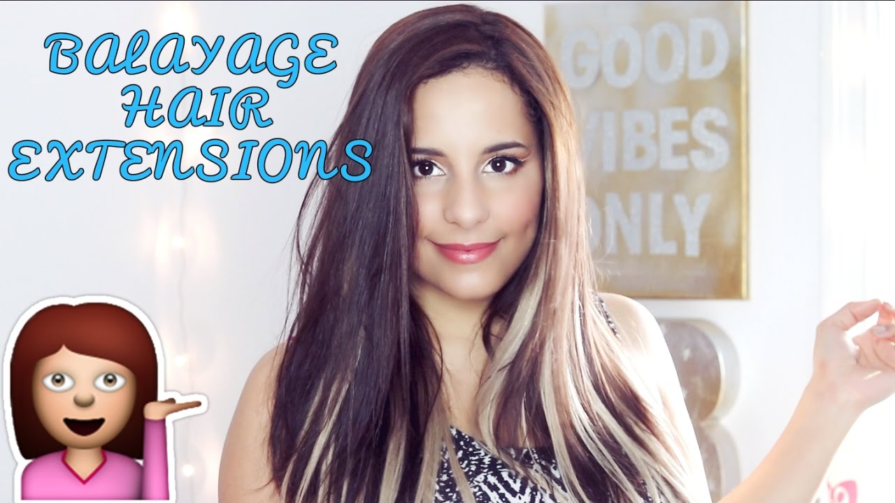 Balayage Hair Extensions Review Stella Reina Hair Youtube