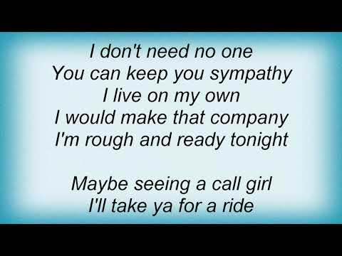 Saxon - Rough And Ready Lyrics