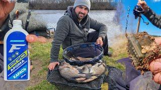 Открыл сезон - НАБИЛ САДОК леща. Сдаю 2 СЕКРЕТА на ВЕСЕННЕГО леща Фидерная рыбалка на реке 2021