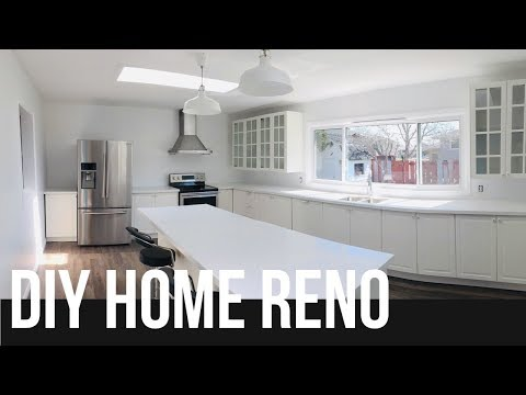 DIY Home Reno: Transforming a Living Room into a Luxury Kitchen