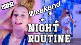 WEEKEND NIGHT ROUTINE ABENDROUTINE AM WOCHENENDE | MaVie