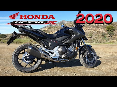 What's new with the new HONDA NC750X 2020 model?