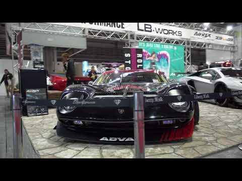 Osaka Auto Messe 2018 with Airrex Digital Air Suspension