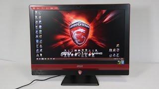 Видео обзор игрового моноблока MSI Gaming 24GE