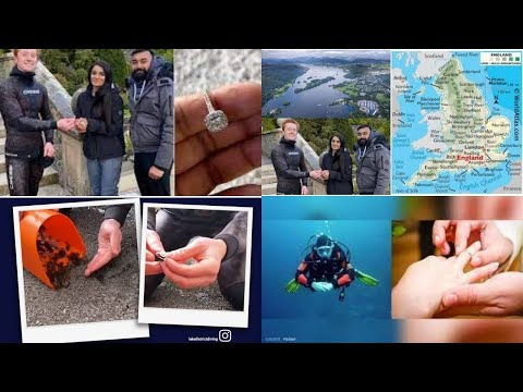 Diver finds Indian-origin couple's engagement ring from England's largest lake